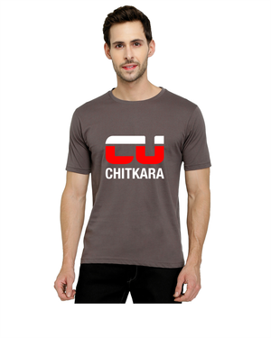 Chitkara University Round Neck T-Shirts