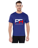 Punjab Agricultural University Round Neck t-Shirts for Men- PA Split Design