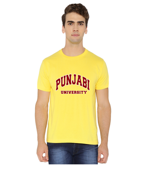 Punjabi University Round Neck T-Shirt