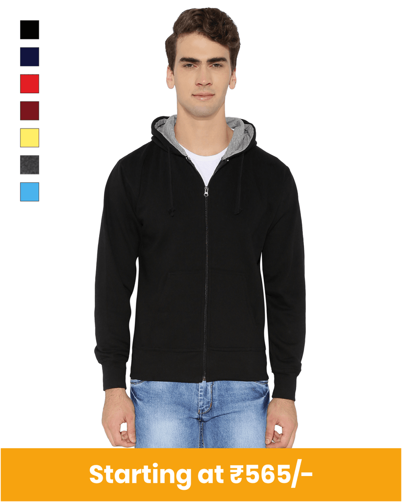 Premium Zipper Hoodies for Customization