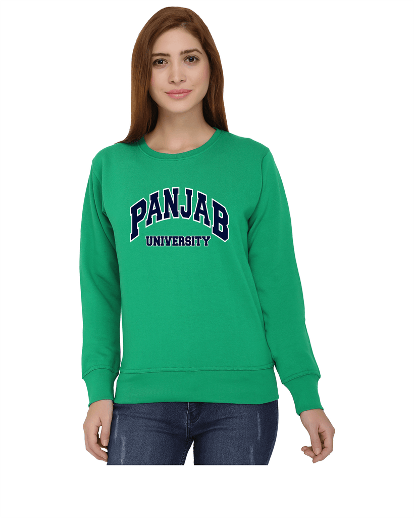 Panjab University Round Neck Sweatshirt