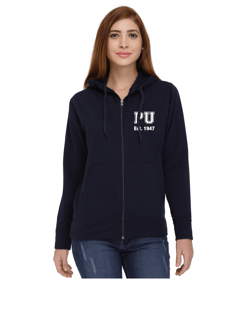 Panjab University Zipper Hoodies