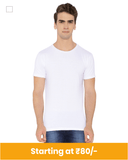Micro Polyester round neck t-shirt for customization
