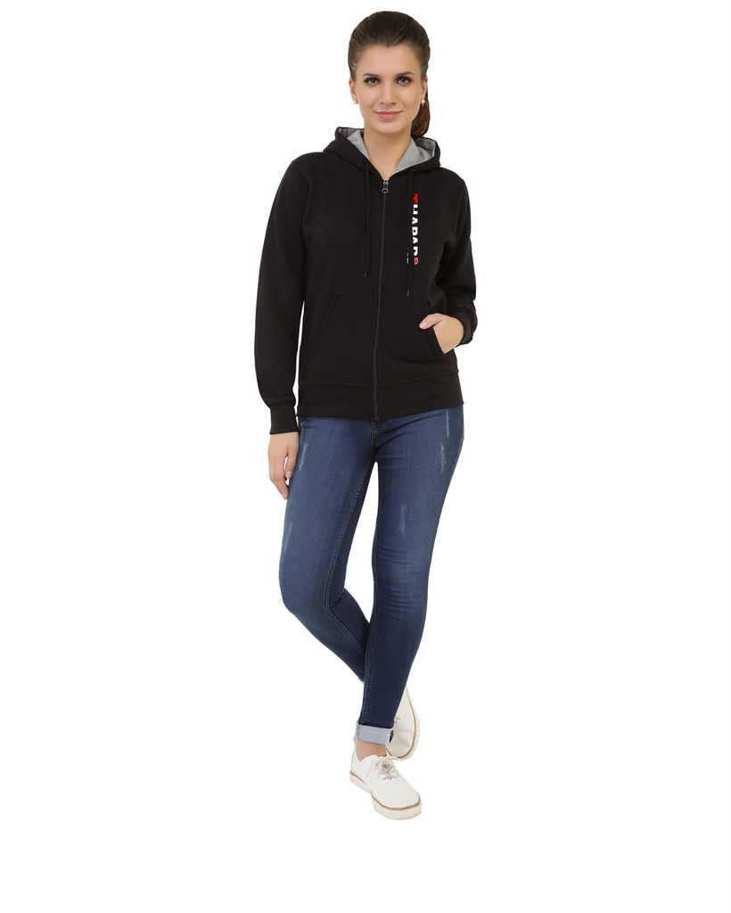 Thapar University Zipper Hoody for Women - Thapar U Design