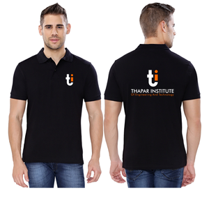 Thapar University Collared Neck T-Shirt