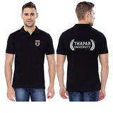 Thapar Unversity Collar Neck T-shirt for Men - Thapar U Design