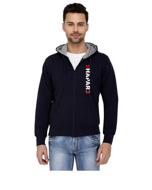Thapar University Zipper Hoody for Men - Thapar U Design