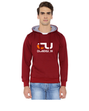 Chandigarh University Classic Hoody for Men - CU Chandigarh Design