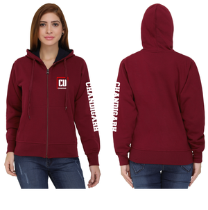 Chandigarh University Zipper Hoody
