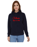 Chitkara University Classic Hoody for Women - Cursive Design