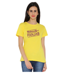 Panjab University Round Neck T-shirt for Women - University of Panjab