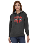 Chandigarh University Classic Hoody for Women - Chandigarh University Ext 2012 Design