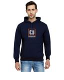 Chandigarh University Classic Hoody for Men - CU Box Design