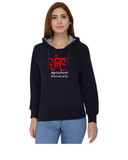Punjab Agricultural University Classic Hoody for Women - Punjab in Punjabi Design