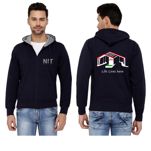 NIT Hamirpur Zipper Hoodies