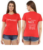 PU T-Shirts life lives here