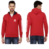 Chandigarh University Zipper Hoodies