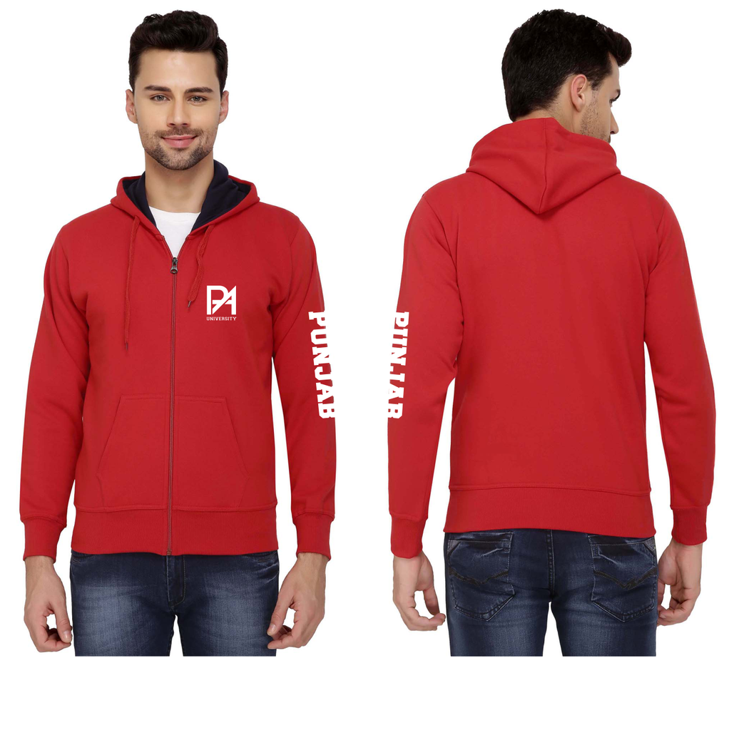 Punjab Agricultural University Zipper Hoodies