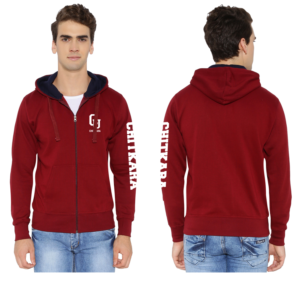 Chitkara University Zipper Sweatshirt