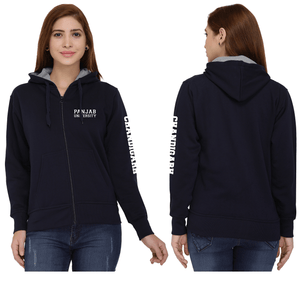 Punjab University Zipper Hoodies