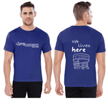 Panjab University T-Shirts Life Lives Here