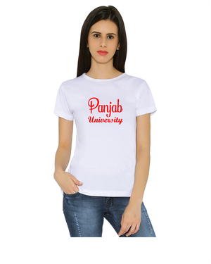Panjab University round neck T-Shirts