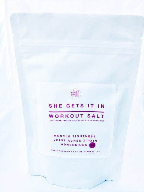 "''She Gets It In"" Bath Salt"