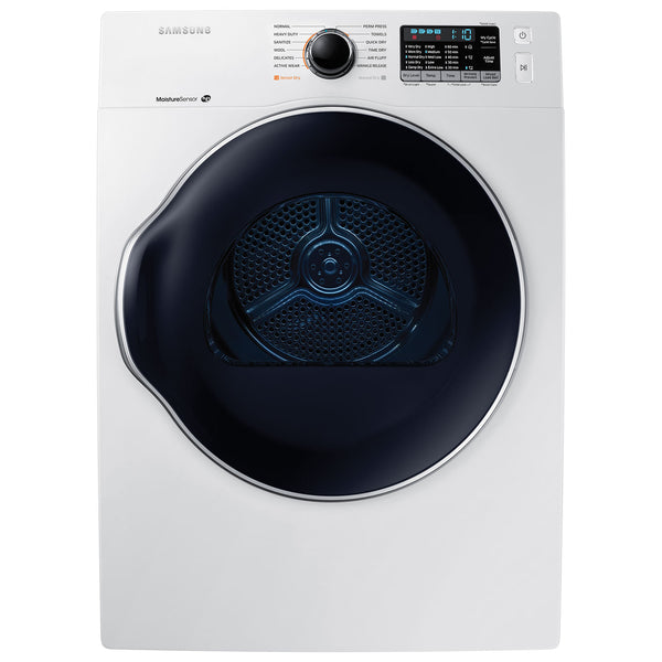 Refurbished Samsung 4.0 Cu. Ft. Electric Compact Dryer (DV22K6800EW) - White