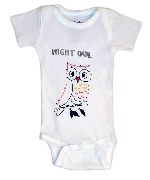 Baby Onesie Night Owl