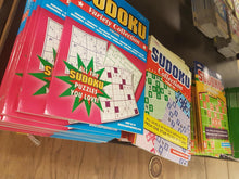 Assorted Puzzles and Coloring Books