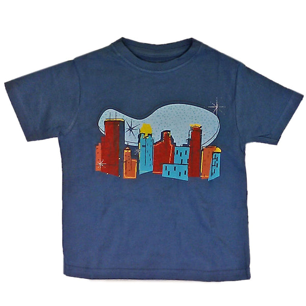 Baby T-Shirts City Slate Blue
