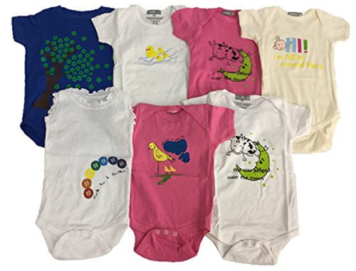 Assorted 10 Pack Baby Apparel (6 Months Boy or Girl)