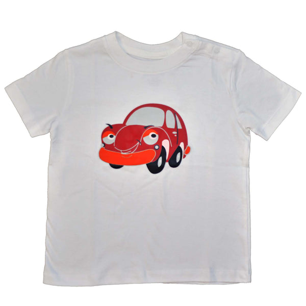 Baby T-Shirts Car White