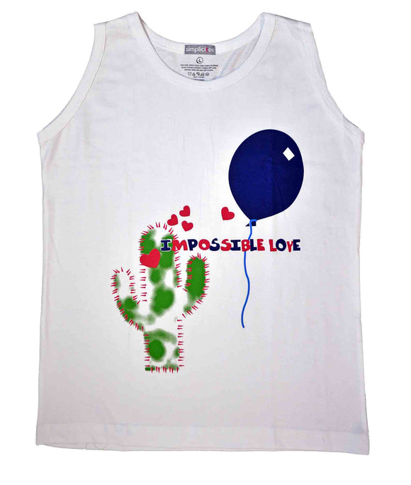 Kids Tank Top Impossible Love