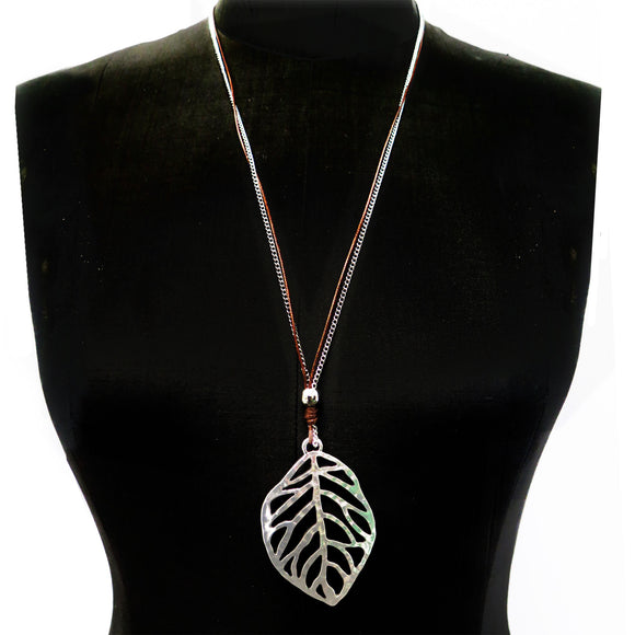 Leaf Pendant Necklace