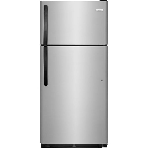 "Frigidaire FFHT1621TS Top Mount Refrigerator, 28"" Width, Optional Ice Maker (Special Order), Energy Efficient, 16.3 Cu. Ft., Interior Light (Refrigerator)"