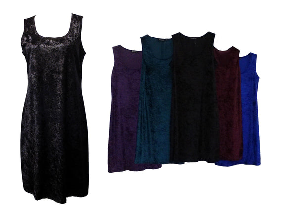 Ladies Velvet Dress