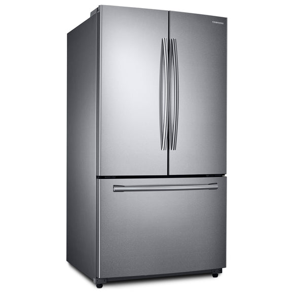 Refurbished Samsung 25.7 cubic ft Stainless Steel Bottom Freezer French Door Refrigerator
