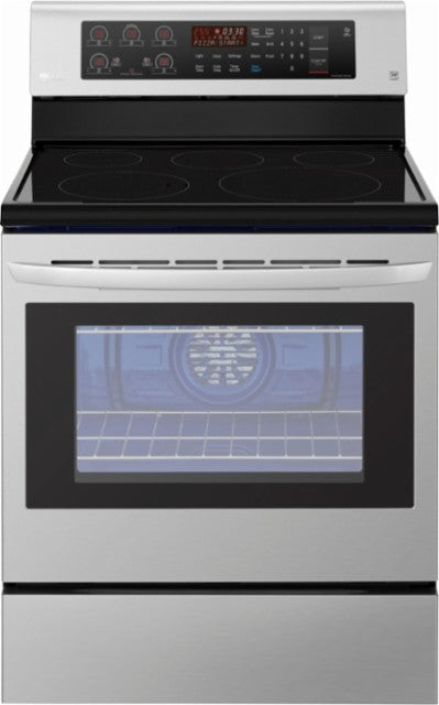 Refurbished LG LRE3193ST Range Electric Range 30 inch Convection Glass Burners