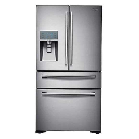 Samsung 23 cu. ft. Counter Depth 4-Door Refrigerator with FlexZone Drawer