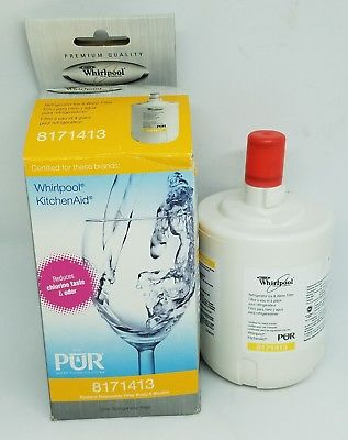 Whirlpool & KitchenAid refrigerator ice & water filter 8171413