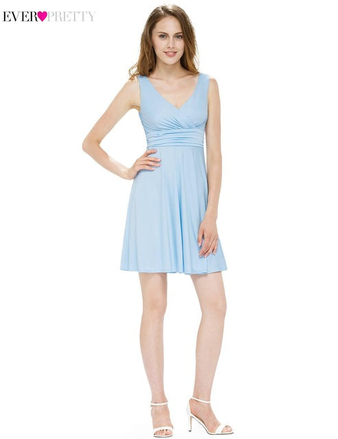 456930fe6ea7 Sexy Short Cocktail Dresses Ever Pretty AP05294 Women's A Line Sleevel –  TaxiShopTv