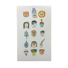 MUTUAL FRIENDS PRINT
