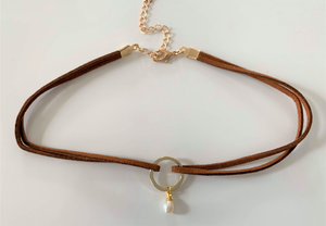 CHOKER Cercle OR - loa-boutique