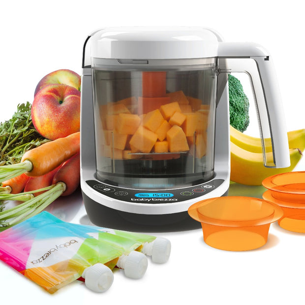 Baby Brezza One Step Baby Food Maker Deluxe (4327149535364)