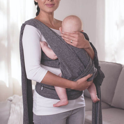 Chicco Bärsele Boppy Comfy Fit Grå (2238554112098)