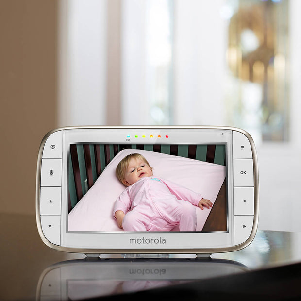 Motorola MBP855 Babymonitor Connect med Wifi/Video - Minijoy (1862553993314)