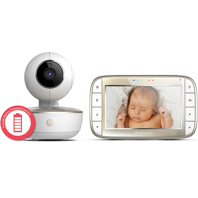 Motorola MBP855 Babymonitor Connect med Wifi/Video - Minijoy