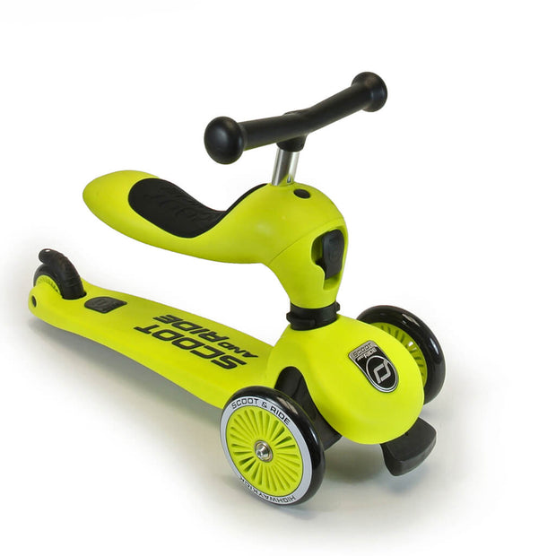 Scoot and Ride Highwaykick 1 Grön - Minijoy (1862694436962)
