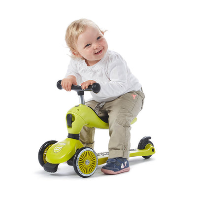 Scoot and Ride Highwaykick 1 Grön - Minijoy